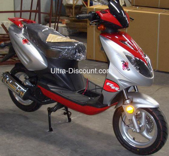 scooter chinois 125cc rouge, scooter chinois 125cc