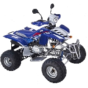 Quad Shineray xy 200 stiie de couleur bleu