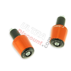 Embout de guidon Tuning orange (type7) pour quads Shineray 300