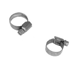 Lot de 2 colliers 20mm pour durite de Quad Bashan 250cc (BS250AS-43)