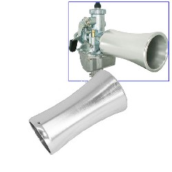 Air funnel en aluminium pour Dax ( L: 100mm )