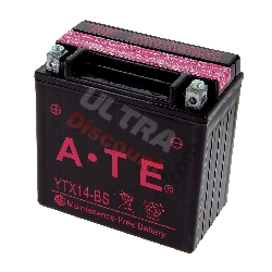 Batterie YTX14-BS pour Quad Shineray 350cc (XY350ST-E)