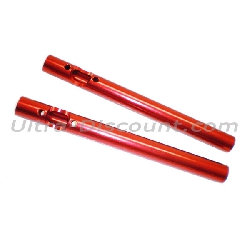 Guidon Tuning Rouge pour Pocket Bike Polini